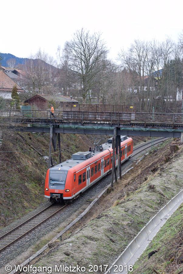426 031 bei Bad Kohlgrub am 09.12.2007