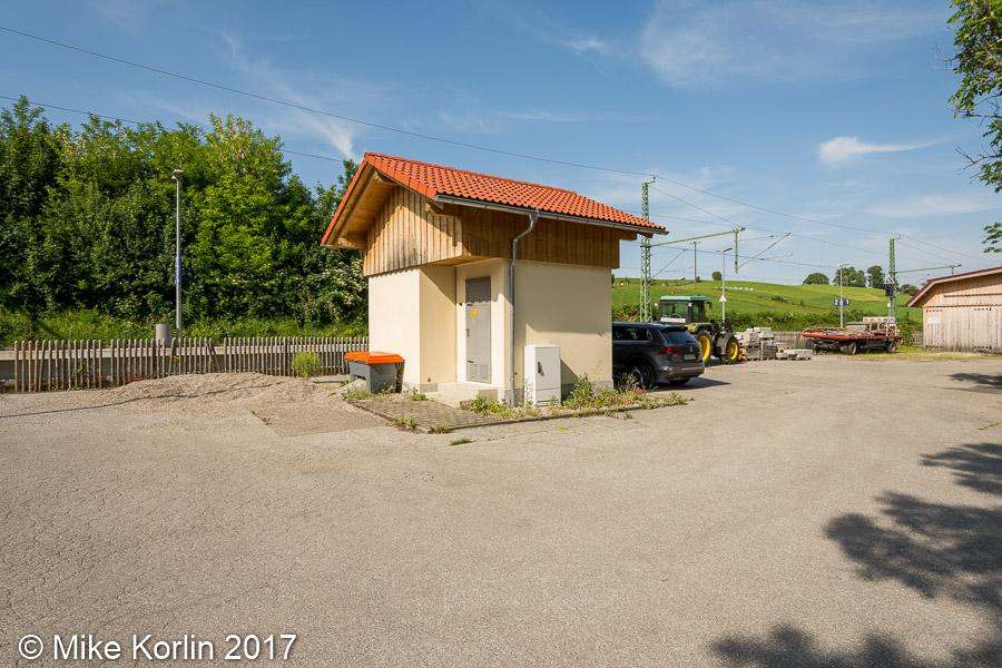Bahnhof Bad Kohlgrub am 05.06.2017