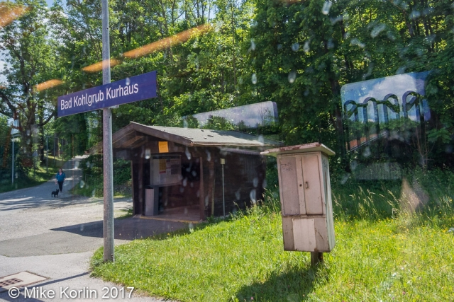 Bahnhof Bad Kohlgrub Kurhaus am 05.06.2017