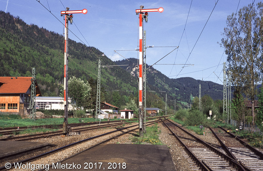 KBS_963 Signale in Oberammergau am 10.05.1999