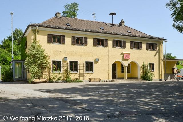 KBS 963 Bahnhof Bad Kohlgrub Straßenseite